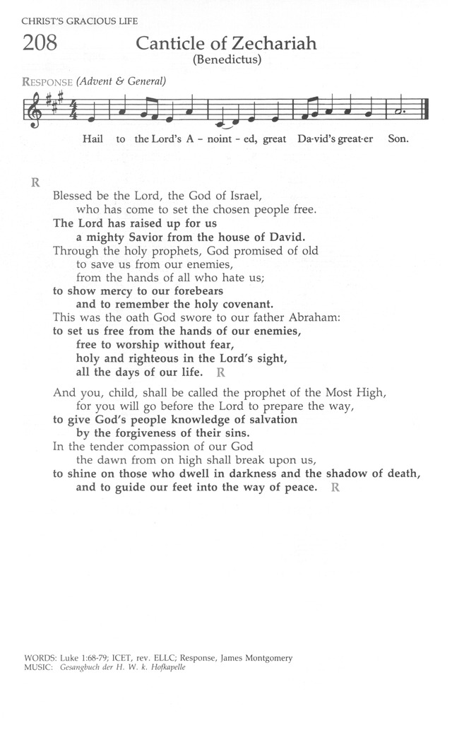 The United Methodist Hymnal page 206