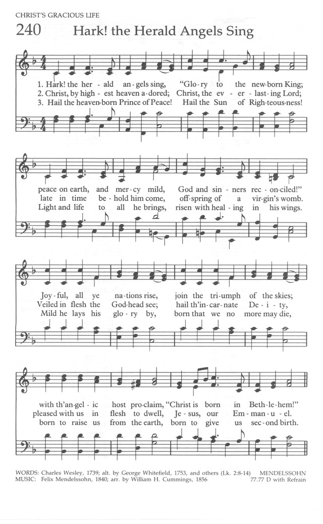 The United Methodist Hymnal page 240