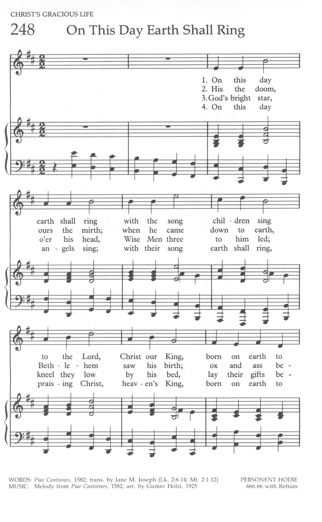 The United Methodist Hymnal Page 250 Hymnary