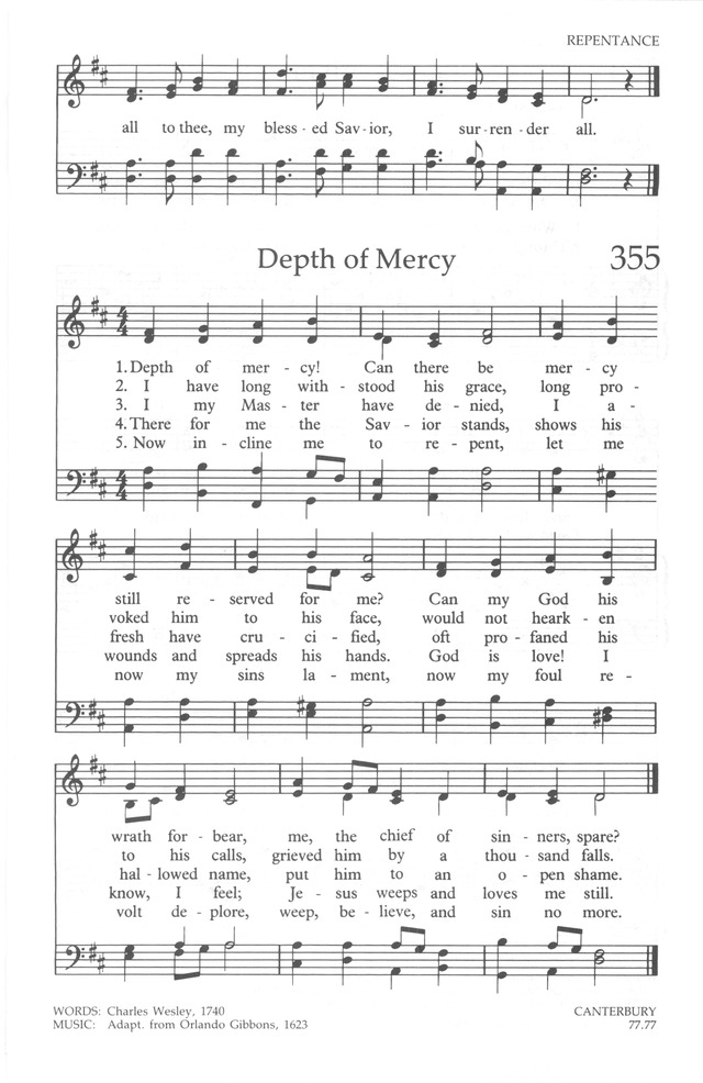 The United Methodist Hymnal 354. All to Jesus I surrender | Hymnary.org