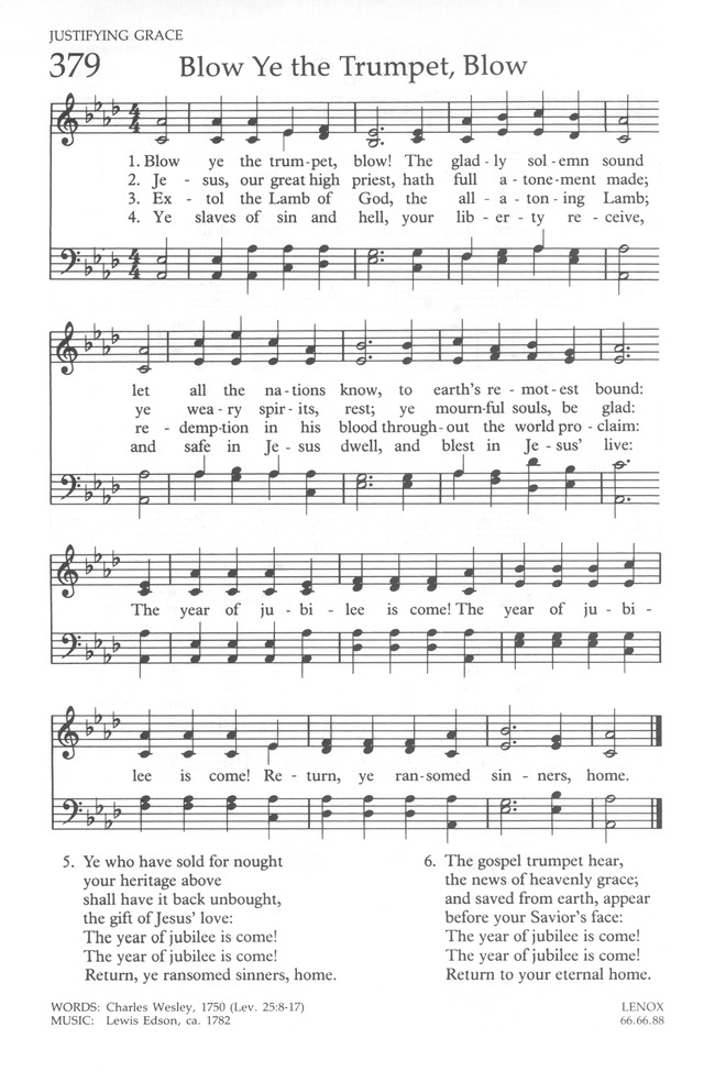 The United Methodist Hymnal page 390