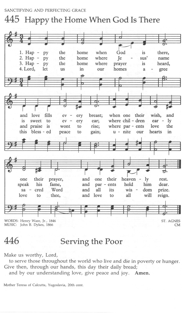 The United Methodist Hymnal page 456