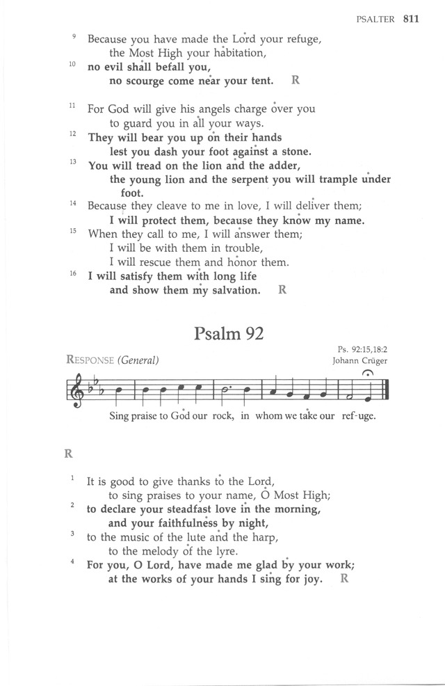 The United Methodist Hymnal page 811