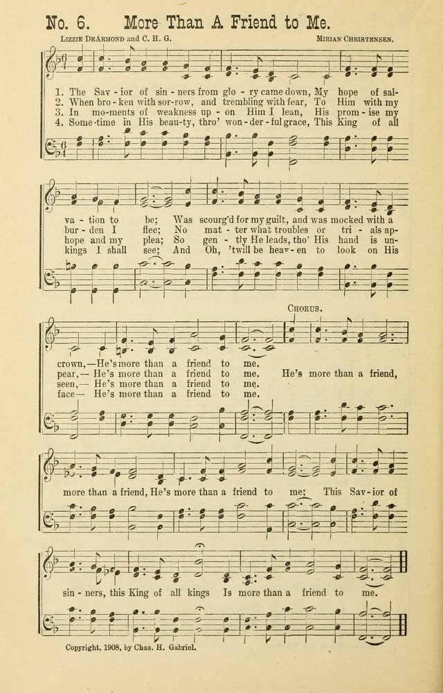 The Victory: a collection of popular Sunday school songs new and old page 6