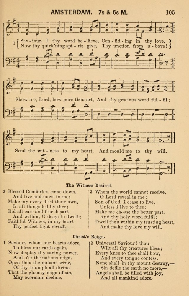 Vestry Harmonies: a collection of hymns and tunes for all occasions of social worship page 110