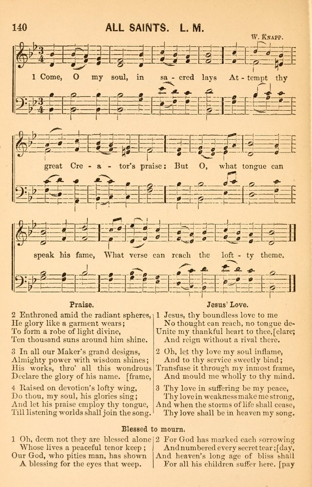 Vestry Harmonies: a collection of hymns and tunes for all occasions of social worship page 145