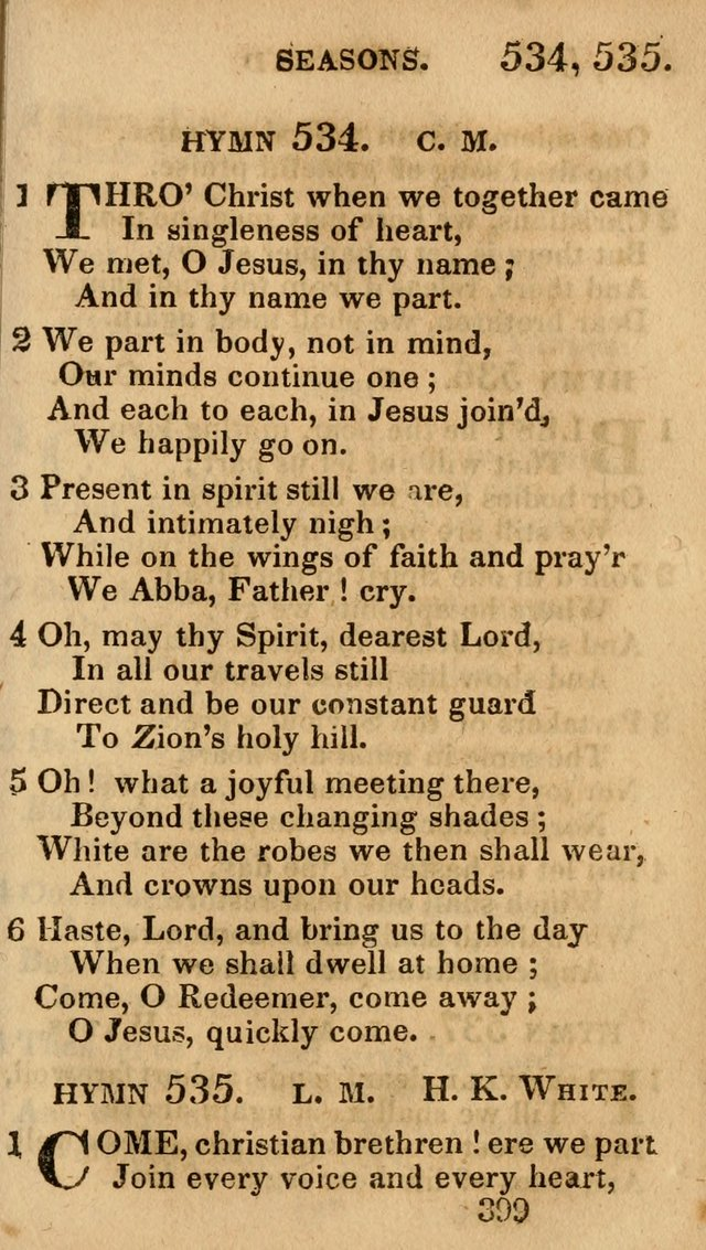 Village Hymns for Social Worship, Selected and Original: designed as a supplement to the Psalms and Hymns of Dr. Watts (6th ed.) page 413