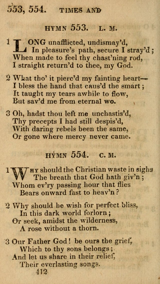 Village Hymns for Social Worship, Selected and Original: designed as a supplement to the Psalms and Hymns of Dr. Watts (6th ed.) page 426