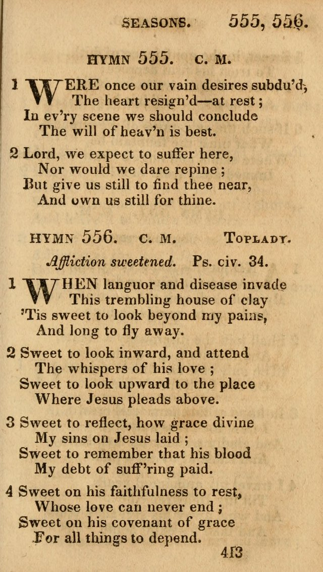 Village Hymns for Social Worship, Selected and Original: designed as a supplement to the Psalms and Hymns of Dr. Watts (6th ed.) page 427