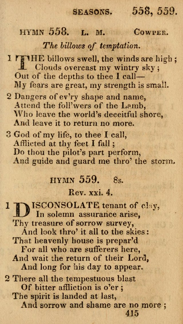 Village Hymns for Social Worship, Selected and Original: designed as a supplement to the Psalms and Hymns of Dr. Watts (6th ed.) page 429