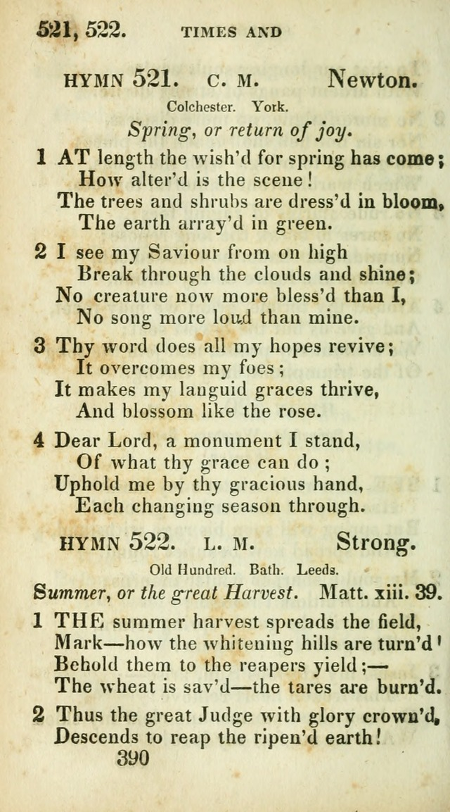 Village hymns for social worship, selected and original: designed as a supplement to Dr. Watts