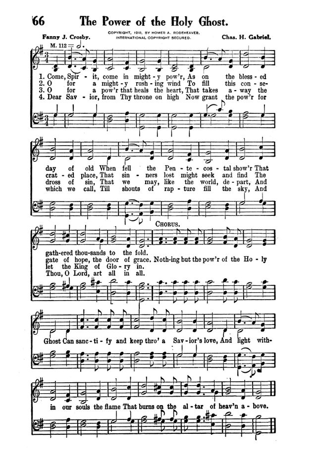 Victory Songs: For the Church, Sunday School and