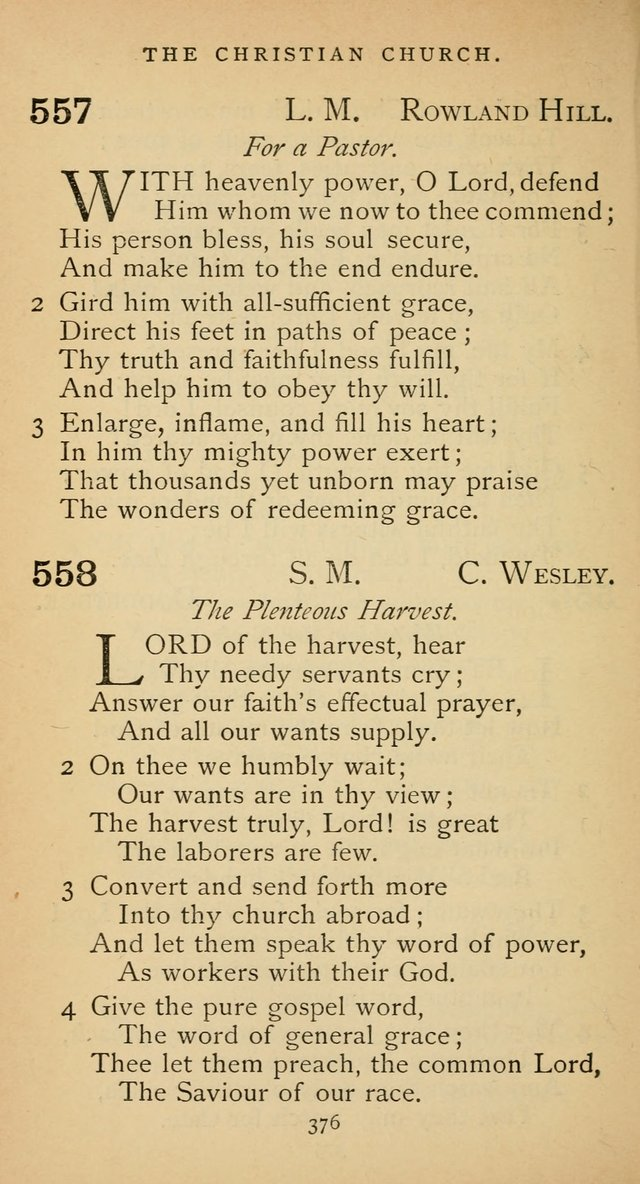 The Voice of Praise: a collection of hymns for the use of the Methodist Church page 376