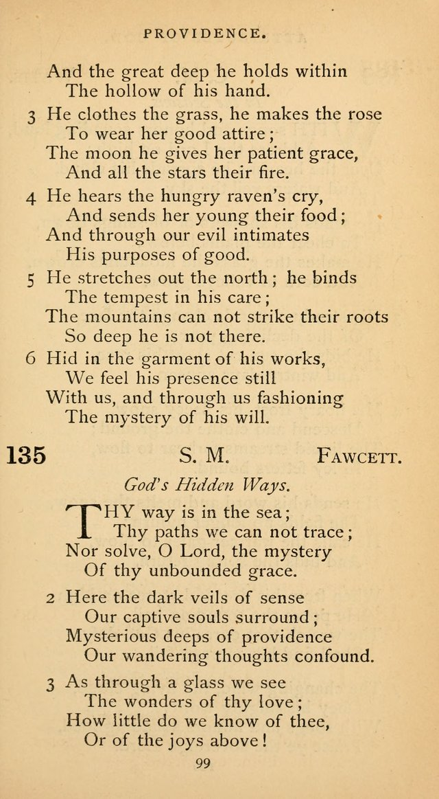 The Voice of Praise: a collection of hymns for the use of the Methodist Church page 99