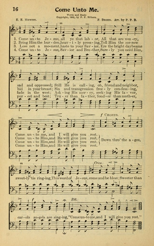 hymn to labor This hymn reminds me of the commission our master has charged us with, go forth and preach the gospel to all mankind, baptizing them into the triune god this is a sobering word from the lord jesus to all the saints all over the world.