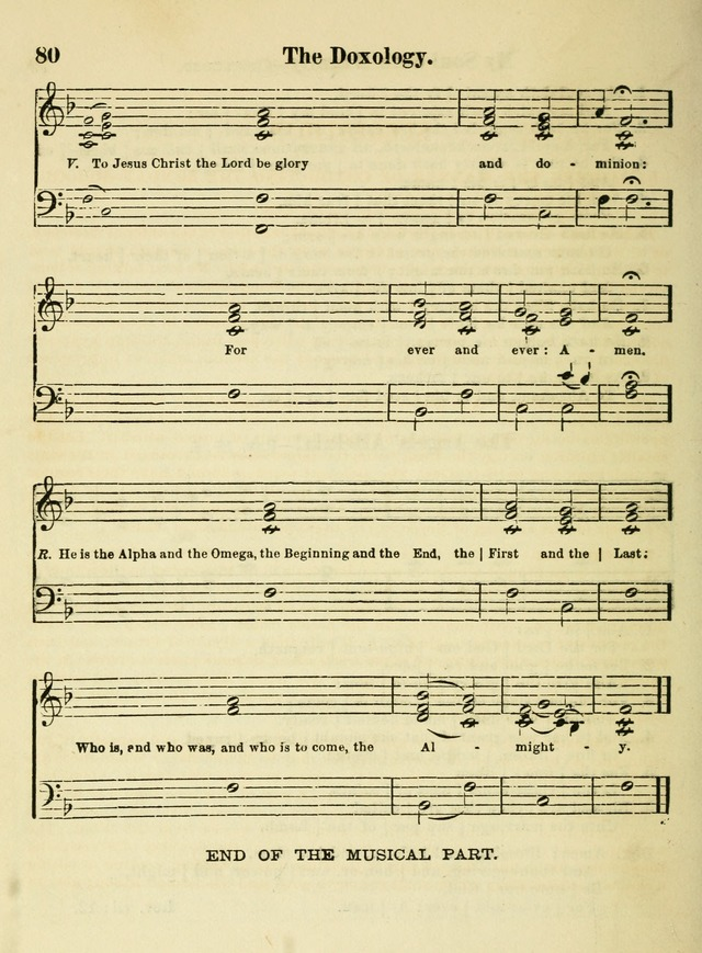 The Welcome: a book of hymns, songs and lessons for the children of the New Church (3rd ed.) page 80