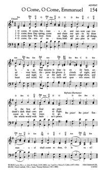 O Come, O Come, Emmanuel | Hymnary.org