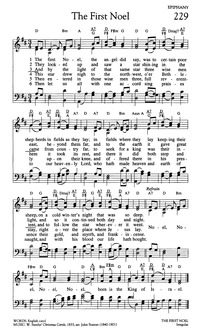 The First Noel the Angel Did Say | Hymnary.org