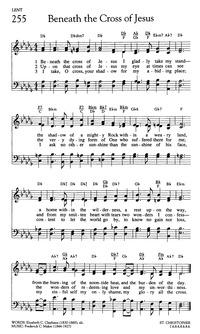 Beneath The Cross Of Jesus Hymnary