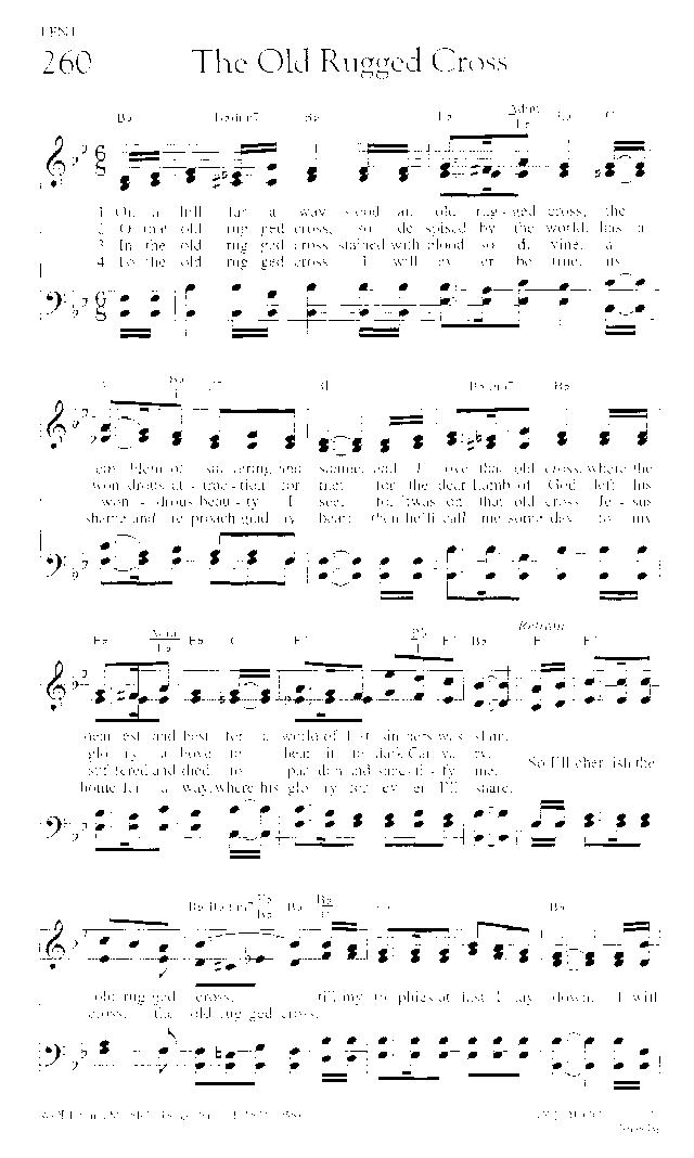 the power of the cross piano sheet music pdf