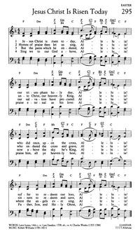 Lyric risen lyrics : Jesus Christ is Risen Today | Hymnary.org