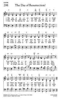 Lyric go tell it on the mountain hymn lyrics : the day of resurrection | Hymnary.org