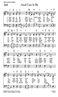 Lyric in sweet by and by lyrics : And Can It Be, That I Should Gain? | Hymnary.org