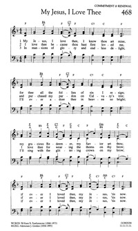 My jesus i love thee hymnary page scans stopboris Images