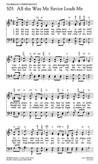 All the Way My Savior Leads Me | Hymnary.org