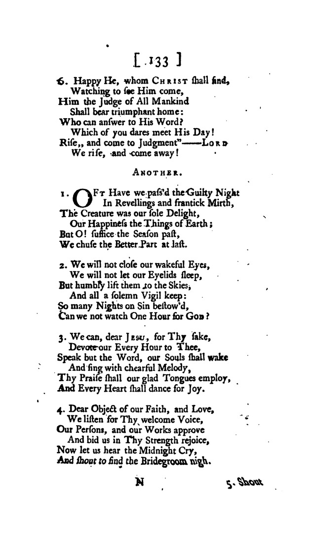 Hymns and Sacred Poems page 133