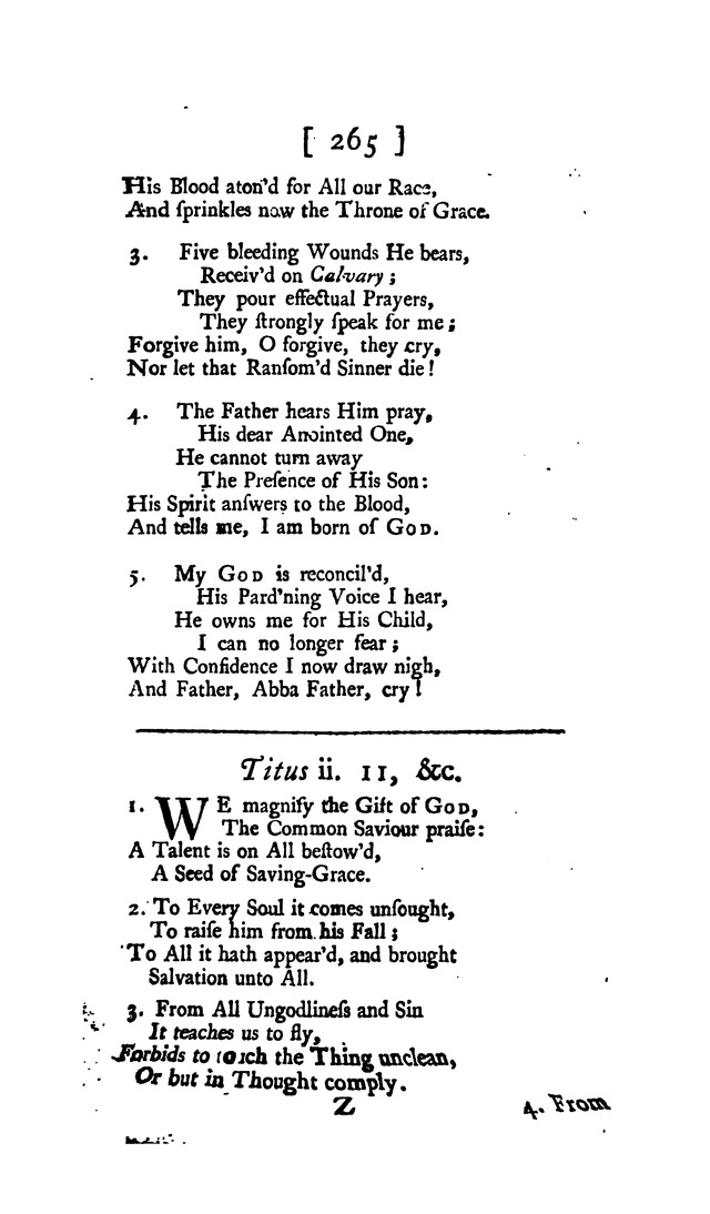 Hymns and Sacred Poems page 265