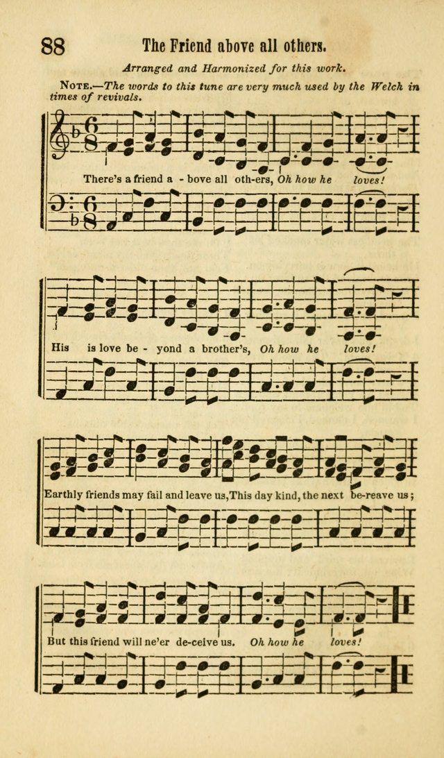 The Wesleyan Psalmist, or Songs of Canaan: a collection of hymns and tunes designed to be used at camp-meetings, and at class and prayer meetings, and other occasions of social devotion page 95