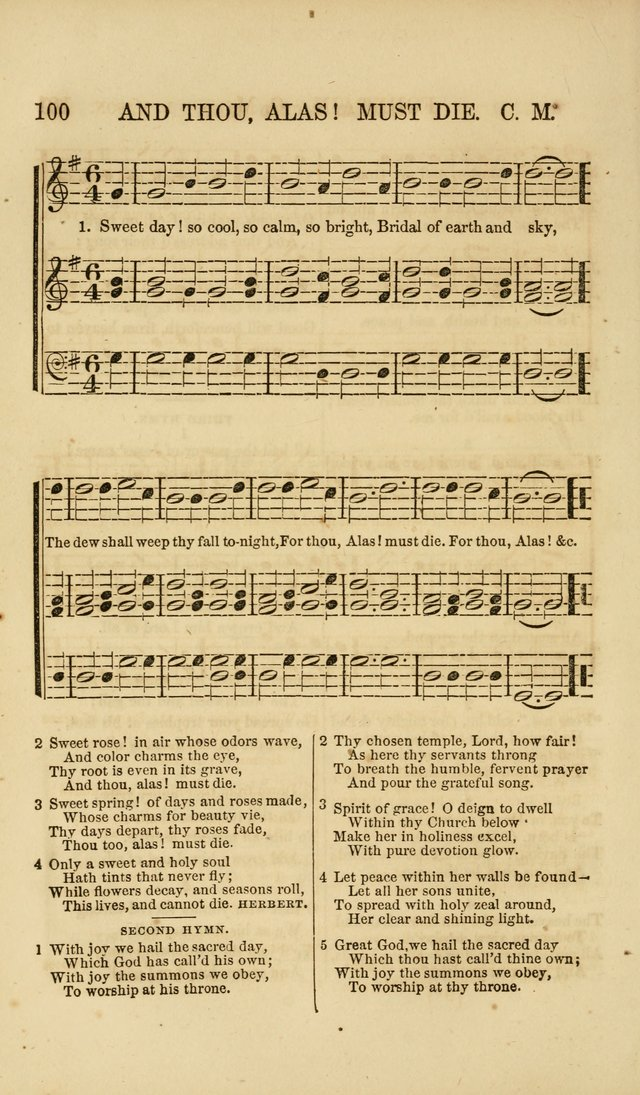 The Wesleyan Sacred Harp: a collection of choice tunes and hymns for prayer class, and camp meetings, choirs, and congregational singing page 105