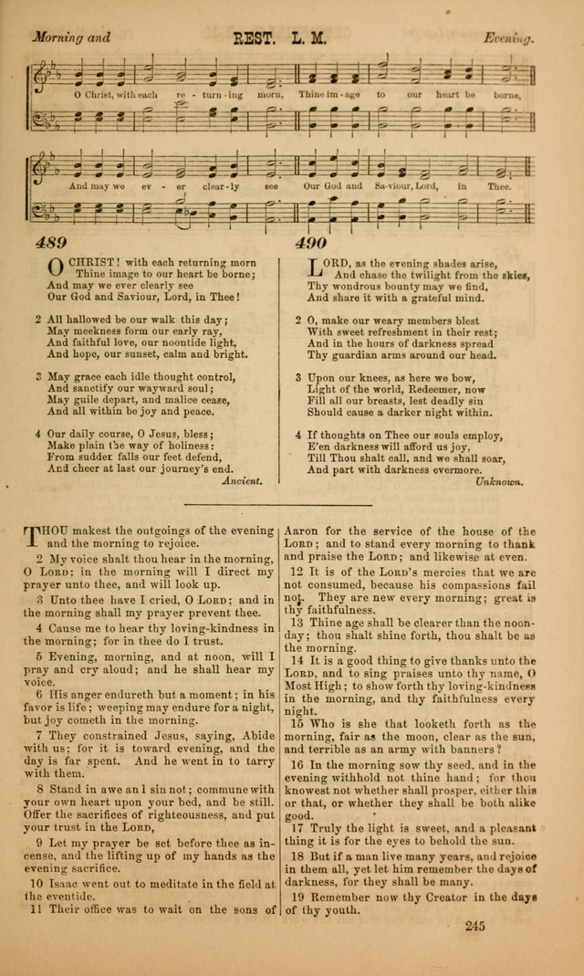 Worship in the School Room: a manual of devotion intended especially for the school, also adapted to the family page 245