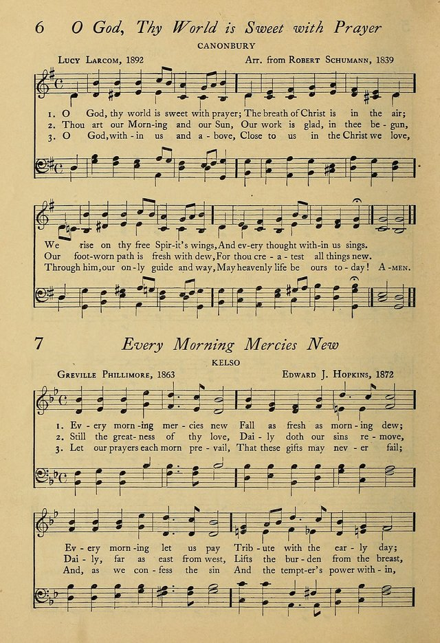Worship And Song Rev Ed 6 O God Thy World Is Sweet With