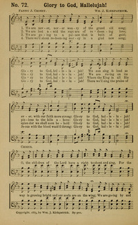 Lyric lyrics to shout to the lord : Glory to God, Hallelujah | Hymnary.org