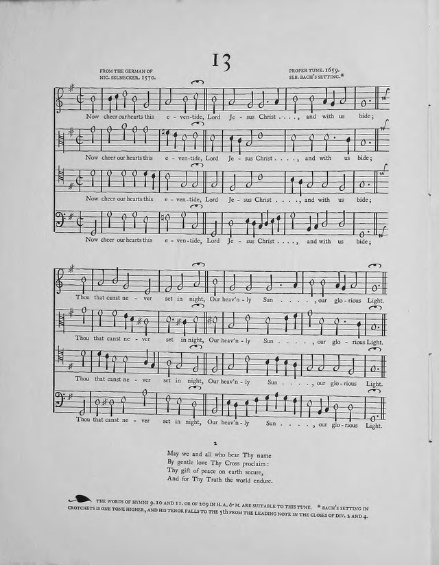 Hymns: the Yattendon Hymnal page 21