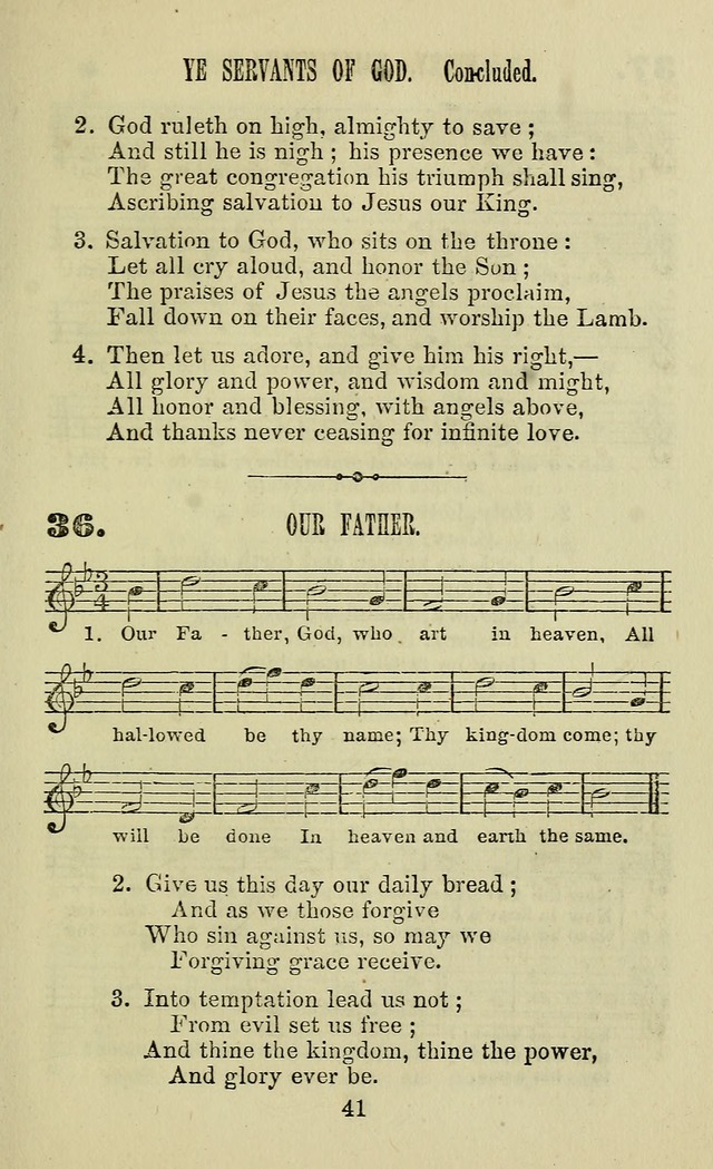 Zion hymn and tune book: for use in the church, prayer-meeting, school and houselhold page 46