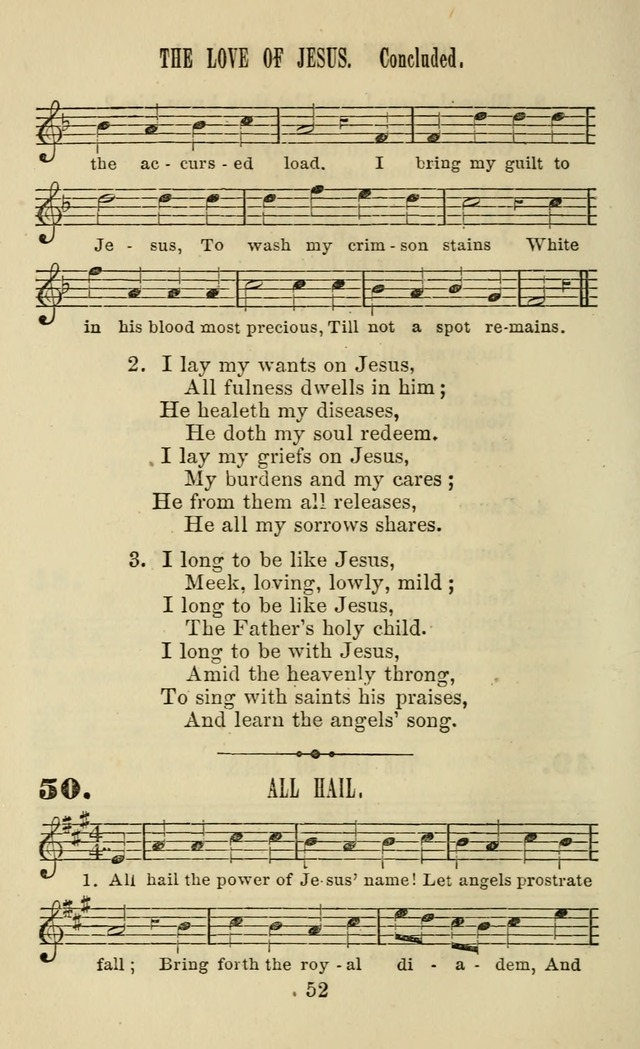Zion hymn and tune book: for use in the church, prayer-meeting, school and houselhold page 57
