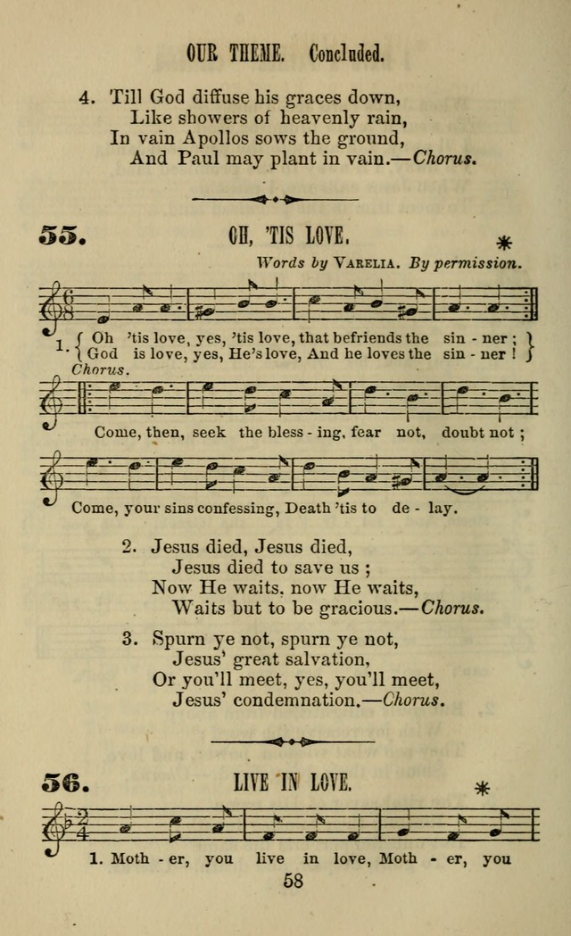 Zion hymn and tune book: for use in the church, prayer-meeting, school and houselhold page 63