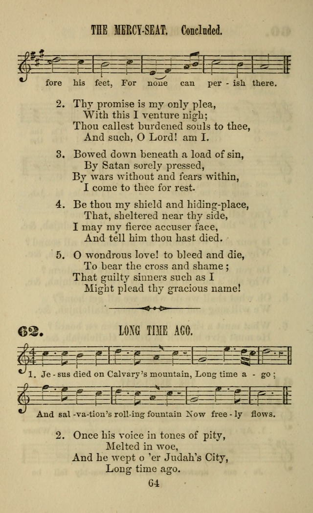 Zion hymn and tune book: for use in the church, prayer-meeting, school and houselhold page 69