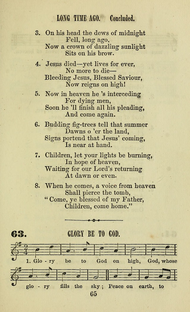 Zion hymn and tune book: for use in the church, prayer-meeting, school and houselhold page 70