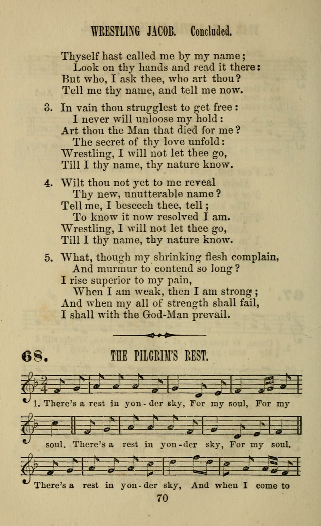 Zion hymn and tune book: for use in the church, prayer-meeting, school and houselhold page 75
