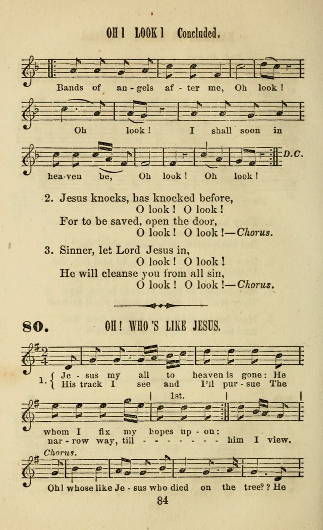 Zion hymn and tune book: for use in the church, prayer-meeting, school and houselhold page 89