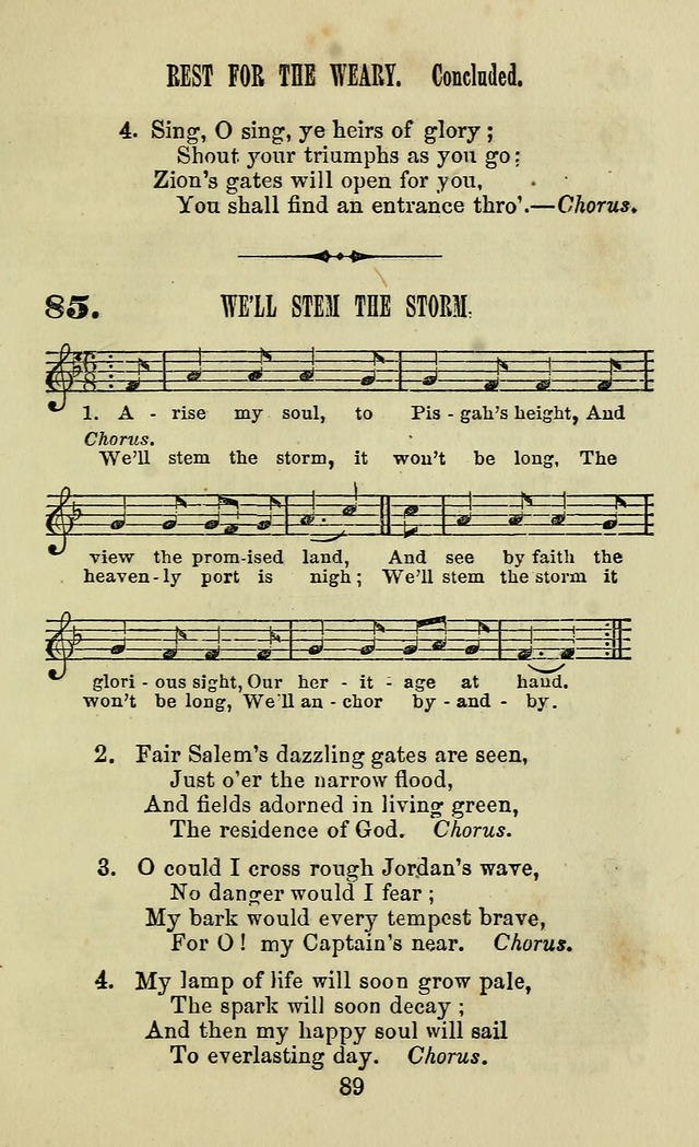 Zion hymn and tune book: for use in the church, prayer-meeting, school and houselhold page 94